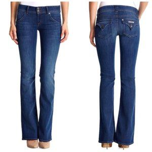 🇺🇸 HUDSON USA Classic Boot Cut Blue Jeans